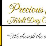 PRECIOUS JEWELS ADULT DAY CARE  CENTER Sewell, NJ  Identity logo for a center which provides medical and therapeutic services as wwell as educational and social activities for those in need and their caregivers