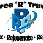 THREE R TRAVEL Middletown, DE  Identity logo for referring travel agents